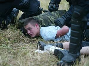 Policejní zákrok na CzechTeku