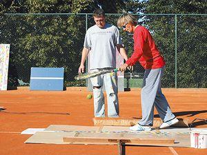 Martina Navrátilová spojila tenis a art