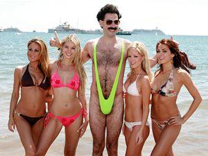 Borat dobyl Ameriku