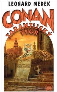 obalka Medek Conan a tygr