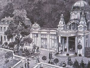 Ott�v pramen v pln� kr�se  v roce 1902